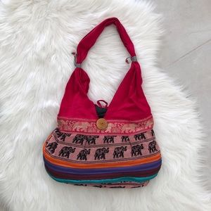 Handbags - Colorful Boho Chic Tapestry Satchel Bag